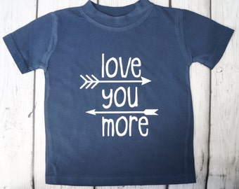 LOVE YOU MORE Bodysuit and Tee Shirt