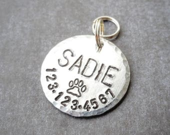 Dog Tags for Dogs, Dog ID Tag, Dog Name Tag, Dog Tag, Engraved Dog Tag, Custom Pet Tag, Personalized Pet Tag, Custom Dog Tag, Circle Dog Tag