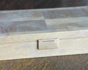 vintage art deco vanire wood box