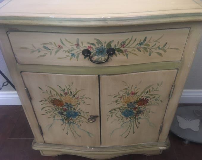Home & Living, Furniture, Living Room Furniture, Recycled Furniture, Distressed Furniture, Hand Painted Furniture, Upcycled Cabinet