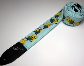 Children's movie-themed handmade double padded guitar strap - This is NOT a licensed product