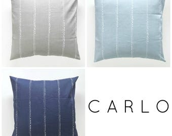 CARLO Collection. Pillow Covers. Decorative Pillow. Stripe Pillows. Minimalist Pillows. Throw Pillow Cover. Stripes.