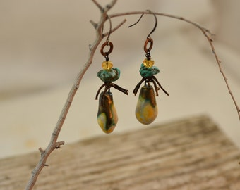 Rustic Gypsy Earrings