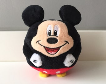 TY Beanie Babies Mickey Mouse Plush Toy - Vintage Disney Mickey Mouse Toy