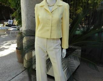 Vintage 1960's Vilano  by Gerardo Livornese Yellow Jacket - Size 8