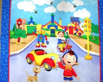 15% off thru 2/28 fabric panel NODDY & FRIENDS from Quilting Treasures 36 BY 44 inches