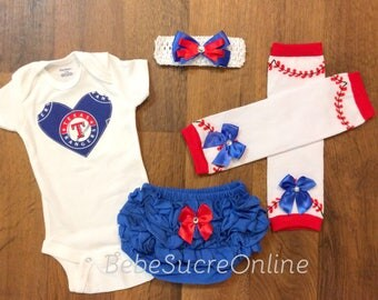 Texas Rangers Game Day Outfit