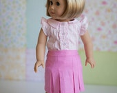 "Whitney 18"" Doll Trousers & Skirt PDF Pattern Tutorial,  Ebook, Epattern, Sizes 18"" Doll - American Girl Doll"