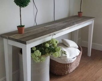 RESERVED Farm House Console
