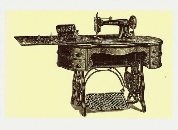 Sale 4x6 sewing fabric patch treadle foot machine sew in for Sewing fabric for sale