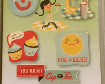Provo Craft  Cricut Imagine YUMMY 2000636  Cricut Imagine KATE'S KITCHEN  2000636 Food Party Patterns bonus content