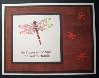 Dragonfly Encouragement Card