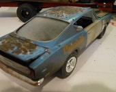 Scale Model Car,Classicwrecks,Plympouth Barracuda,Rusted Wreck,Rat Rod