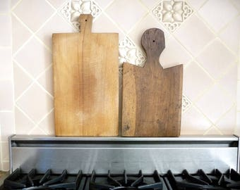 Antique French Cutting Board, Chopping Block, French Country Kitchen, Serving Tray