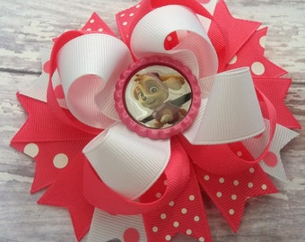 Patrol Puppy Hair Bow, Boutique Puppy Hair Bow, Ready To Ship Hair Bow, Puppy Hair Clip, Birthday Theme