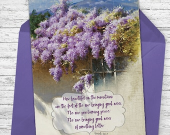 Proclaiming Peace - Greeting Card