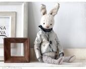 Rabbit Teddy Peter 9 inch OOAK 22 cm