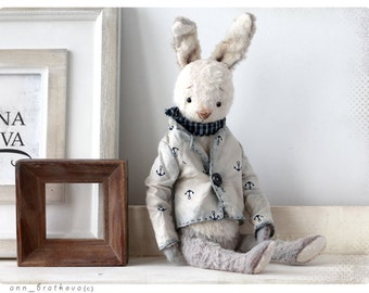 Rabbit Teddy Peter 9 inch OOAK 22 cm