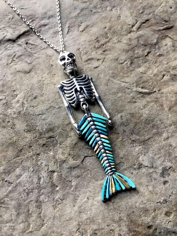 Collar de sirena / Mermaid esqueleto / escalas de los pescados