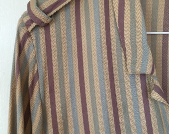 Vintage 90s Shirt Striped blouse small