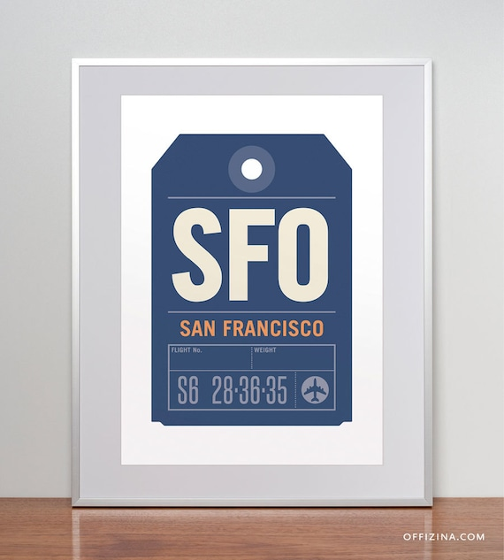 SFO is the airport code for San Francisco International Airport. Click here to find more.