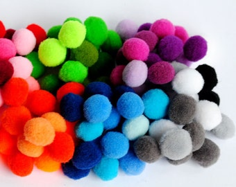 Wholesale - Pompom Pom Pom, Balls, Soft, Embellishments, Craft Supplies Trim Beading Crochet Knitting Sewing Home decor Party Wedding shower