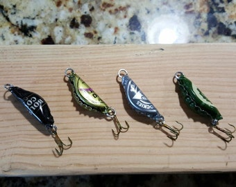 Beer Bottle Cap Fishing Lures