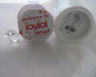 Swarovski Crystal Y2B SHEEP Made in Austria Org Box REDUCED