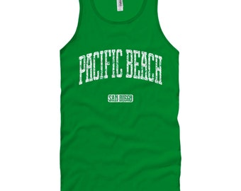 Pacific Beach San Diego Tank Top - Unisex XS S M L XL 2x Men and Women - Gift for Men, Her, Pacific Beach Tank Top, PB Tank Top, Mission Bay