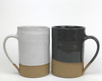 Tall stoneware mug 12oz
