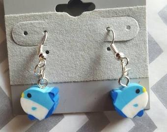 Vintage Sunfish Earrings