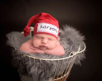 newborn personalized hat - baby knot hat name - take home outfit boy - baby boy gift - baby boy hat - personalized baby hat - hospital hat