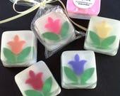 CUSTOM RESERVED Tulip Soap Favors