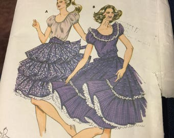 Kwik Sew 1157,  Square Dance Dress,     size 6-12 misses