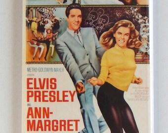Viva Las Vegas Movie Poster Fridge Magnet (1.5 x 4.5 inches)