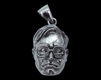 Stainless Steel Large Bubbles Pendant Sold with a Free Chain - Trailer Park Boys - Free Shipping