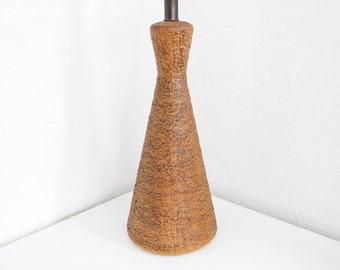 Mid Century Modern Textured Ceramic Table Lamp