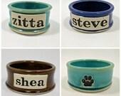 Personalized Pet Bowl, Custom, Pet Bowl, Small, Medium, or Large