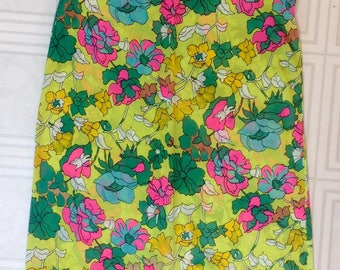 Vintage bright and fun sleeveless dress from Simpsons Sears