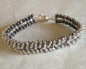Silver Firepolish Bracelet