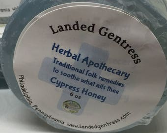 Herbal Apothecary bar in Cypress Honey