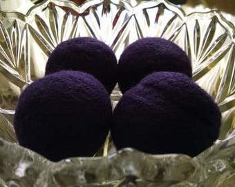 Made to Order - Set of 3 Wool Dryer Balls - Color of Choice
