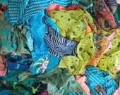 SALE! Grab Bag of mixed silk off-cuts