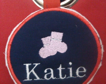 custom closet organization tags/custom nursery closet organization/  sock basket tags/ closet organization labels/ sock bin labels