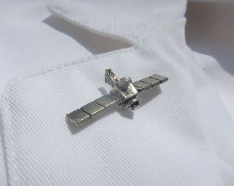 Satellite Lapel Pin - CC210- Space and Astronomy Lapel Pins