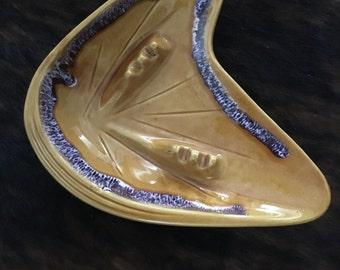 Vintage mid century boomerang Ash Tray