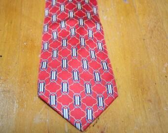 Authentic Vintage Fendi Silk Tie