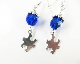 Autism earrings