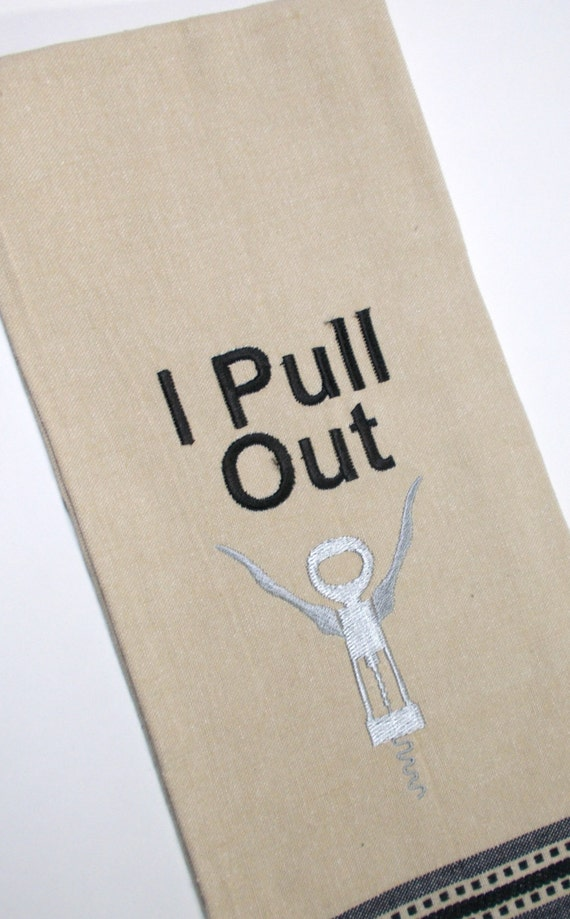 I pull out cork screw wine bottle opener funny wine themed - Funny wine openers ...