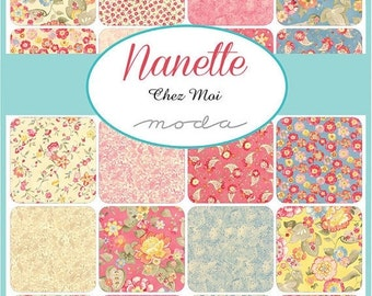 25% Off SALE Nanette Layer Cake by Chez Moi for Moda - One Layer Cake - 33160LC